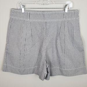 NWT Banana Republic Seersucker High Waist Shorts